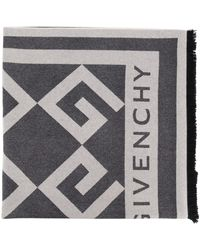 Givenchy Платок С Монограммой - Серый