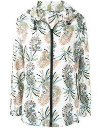 bc51ca23fc8 Etro Paisley Print Jacket in Black - Lyst