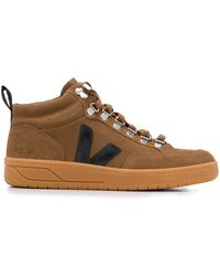 Vejas High-top Sneakers - Brown