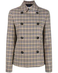 Closed - Buttoned Up Coat - Lyst