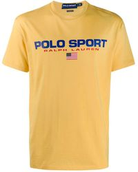 Polo Ralph Lauren Polo Sport Tシャツ - イエロー