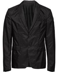 Prada Однобортная Куртка - Черный