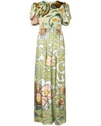 Co. - Floral Long Dress - Lyst