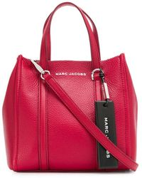 Marc Jacobs Borsa tote The Tag - Rosso