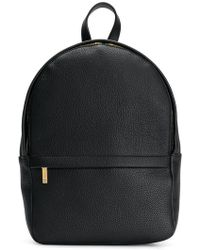 Thom Browne Small Unstructured Calfskin Backpack - Black