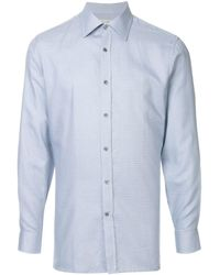 Gieves & Hawkes - Printed shirt - Lyst