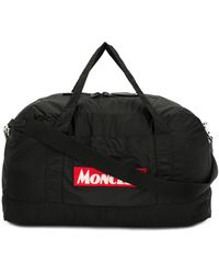 Moncler Logo Patch Holdall - Black