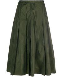 Moncler - Jupe mi-longue à design plissé - Lyst