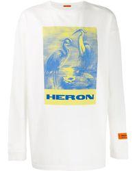 Heron Preston Oversized Trui - Wit