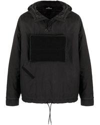 Stone Island Shadow Project Куртка-анорак Insulated - Черный
