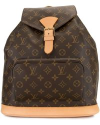 Louis Vuitton Рюкзак Montsouris Gm 2004-го Года Pre-owned - Коричневый