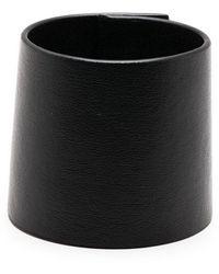 DSquared² レザー ブレスレット - ブラック