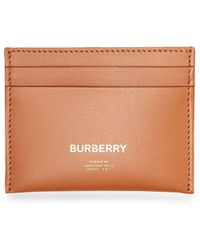 Burberry Porte-cartes Horseferry - Marron