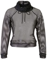 Koral Pump メッシュセーター - ブラック