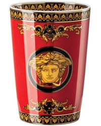 Versace Medusa Scented Candle - Red