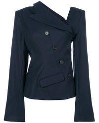 Monse - Asymmetric Neck Jacket - Lyst