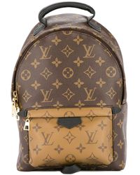 Louis Vuitton Pre-owned Palm Springs Pm Backpack - Brown