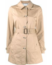 Woolrich Belted Trench Coat - Natural