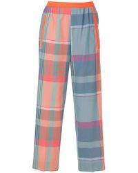 Kolor - Pantaloni con vita elasticizzata - Lyst