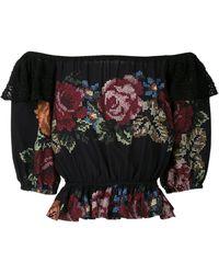Cecilia Prado Michele Off-shoulder Blouse - Black