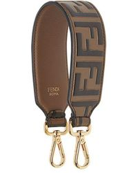 Fendi Mini Strap You Bag Strap - Brown