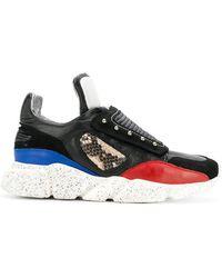 Dorothee Schumacher Colour Block Sneakers - Black