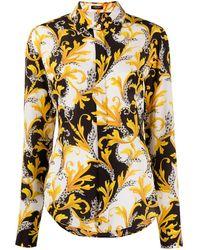 Versace バロックプリント シャツ - マルチカラー