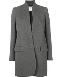 Stella McCartney Bryce Single-breasted Coat - Gray