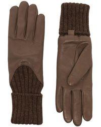 Agnelle 'Cecilia' Handschuhe - Braun