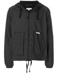 Engineered Garments - Hooded Polka Dot Hacket - Lyst