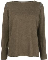 Fabiana Filippi - Long-sleeve Fitted Jumper - Lyst