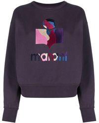 Étoile Isabel Marant Moby Crew-neck Sweatshirt - Purple