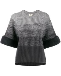 Fendi グラデーション セーター - グレー