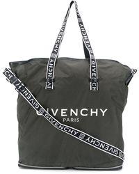 Givenchy Сумка-шопер С Логотипом - Зеленый