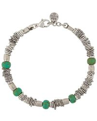 Gas Bijoux Armband Met Amulet - Metallic