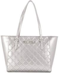Love Moschino - Frront Logo Tote Bag - Lyst