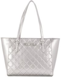 Love Moschino - Frront Logo Tote Bag - Lyst