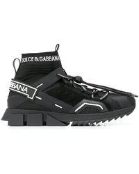 Dolce & Gabbana Высокие Кроссовки Sorrento - Черный