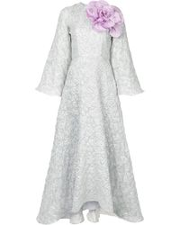 Bambah Argentina Long Sleeve Gown - Grey