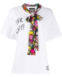 Boutique Moschino - スローガン Tシャツ - Lyst