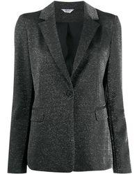 Liu Jo - グリッター シングルジャケット - Lyst