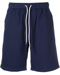 Alex Mill Saturday Seersucker Shorts - Blue