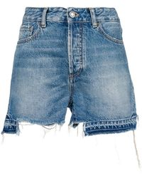 Marcelo Burlon - Ripped Shorts - Lyst