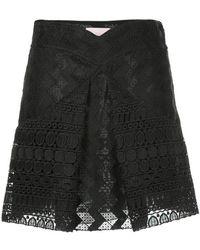Giamba - Inverted Pleat Skirt - Lyst