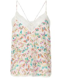 Zadig & Voltaire Caraco Christy Butterfly - Multicolore