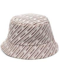 Ambush Logo-print Cotton Bucket Hat - Multicolour