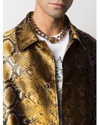 Versace Массивная Цепочка На Шею С Подвеской Medusa - Металлик