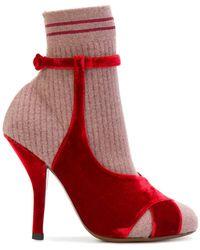 Fendi - Sandal-shaped Boots - Lyst