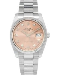 Rolex 2020 'Oyster Perpetual Datejust' Armbanduhr, 34mm - Pink