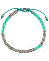 M. Cohen Stack Bead Bracelet - ブルー